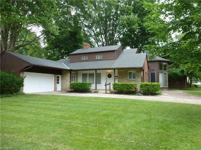 Rocky River Single Family Home For Sale: 20997 Lake Rd