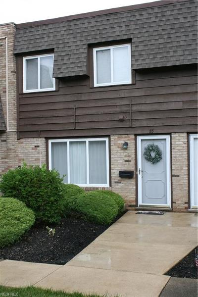 Mentor Condo/Townhouse For Sale: 6400 Center St #55