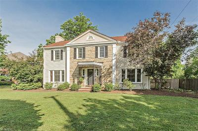 Shaker Heights Single Family Home For Sale: 2666 Cranlyn Rd