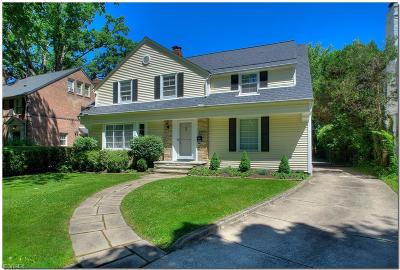 Cleveland Heights Single Family Home For Sale: 2729 Berkshire Rd