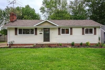 Lake County Single Family Home For Sale: 478 East 319th St