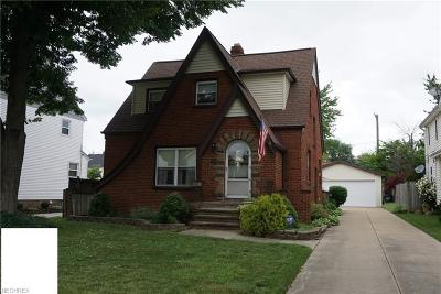 Euclid Single Family Home For Sale: 19131 Locherie Ave