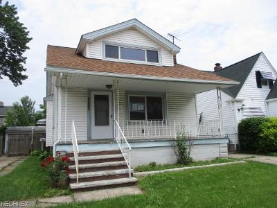 Garfield Heights Single Family Home For Sale: 11113 Wadsworth Ave