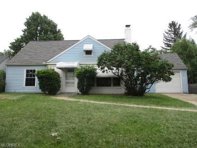 Euclid Single Family Home For Sale: 1755 East 236th St