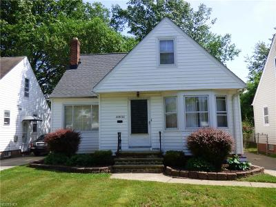 Euclid Single Family Home For Sale: 20800 Morris Ave