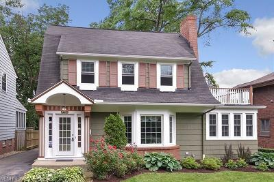 Cleveland Heights Single Family Home For Sale: 2286 Delaware Dr
