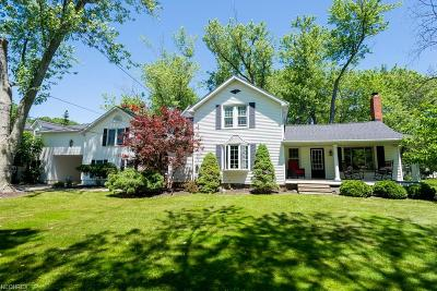 Willoughby Hills Single Family Home For Sale: 29465 White Rd