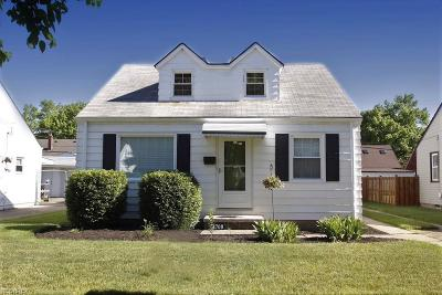 Cleveland OH Single Family Home For Sale: $96,900