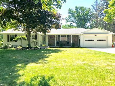 Brecksville Single Family Home For Sale: 8489 Wiese Rd
