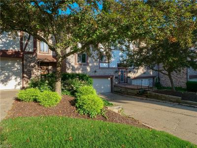 Rocky River Condo/Townhouse For Sale: 22542 Center Ridge Rd #B