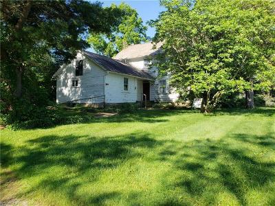 Medina Single Family Home For Sale: 7440 Norwalk Rd