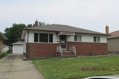 Wickliffe Single Family Home For Sale: 30847 Roosevelt Rd