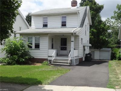 Single Family Home For Sale: 5044 East 88th St
