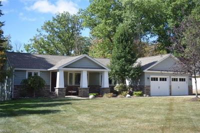Olmsted Falls Single Family Home For Sale: 8550 Lewis Rd