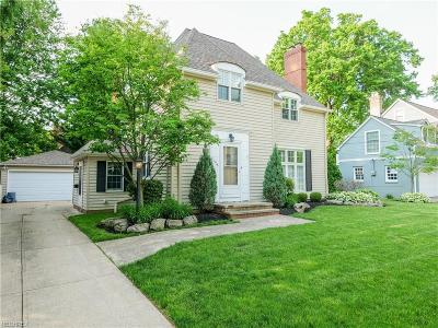 Rocky River Single Family Home For Sale: 21576 Kenwood Ave
