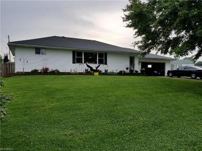 Frazeysburg OH Single Family Home For Sale: $159,900