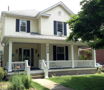 Guernsey County Single Family Home For Sale: 708 North 7th St