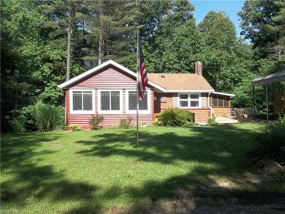 Glouster OH Single Family Home For Sale: $125,900