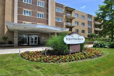 Beachwood Condo/Townhouse For Sale: 22655 Chagrin Blvd #308