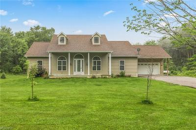 Geauga County Single Family Home For Sale: 10210 Old State Rd
