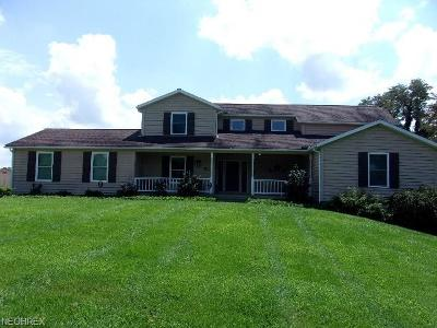 Muskingum County Single Family Home For Sale: 3652 Old Coopermill Rd