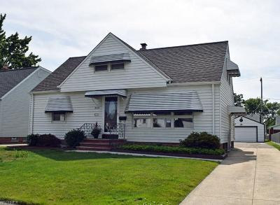 Willowick Single Family Home For Sale: 380 Clarmont Rd