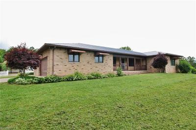 Muskingum County Single Family Home For Sale: 7685 Lower Kroft Rd