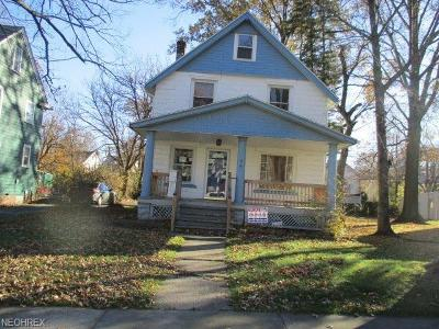Cleveland Heights Single Family Home For Sale: 861 Caledonia Ave
