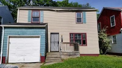 Cleveland Single Family Home For Sale: 3360 East 149th St