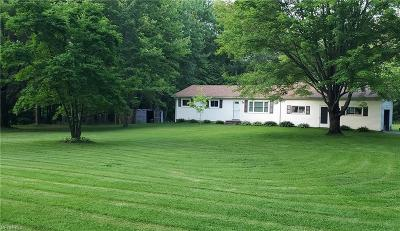 Madison Single Family Home For Sale: 5661 Chapin Rd