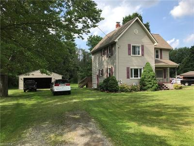Youngstown Single Family Home For Sale: 5150 West Webb Rd