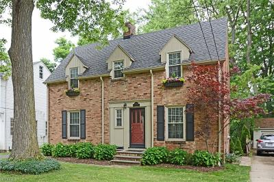 Rocky River Single Family Home For Sale: 20558 Beachwood Dr