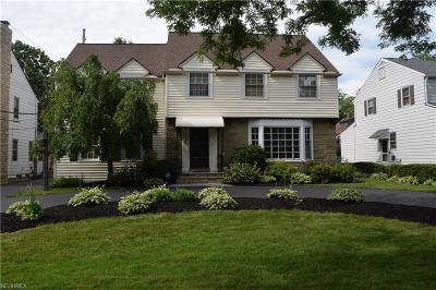 Shaker Heights Single Family Home For Sale: 19149 Fairmount Blvd