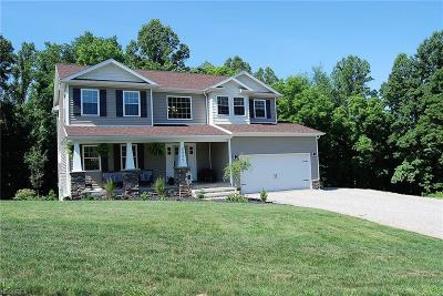 Zanesville Single Family Home For Sale: 2495 Odessa Dr