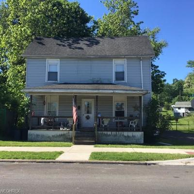 Cambridge OH Single Family Home For Sale: $35,000