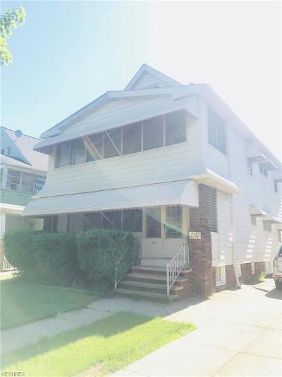 Lakewood Multi Family Home For Sale: 2175 Clarence Ave