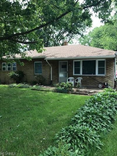 North Ridgeville Single Family Home For Sale: 7272 Avon Belden Rd
