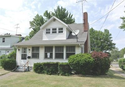 Elyria Single Family Home For Sale: 620 East Broad St