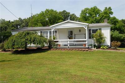 Zanesville Single Family Home For Sale: 3120 Big B Rd