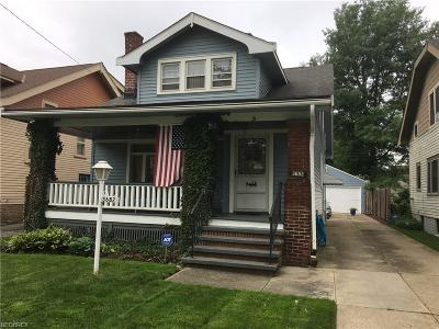 Shaker Heights Single Family Home For Sale: 3682 Ludgate Rd