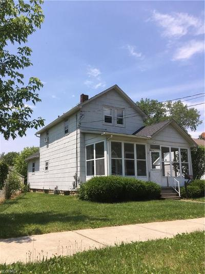 Painesville OH Single Family Home For Sale: $79,900