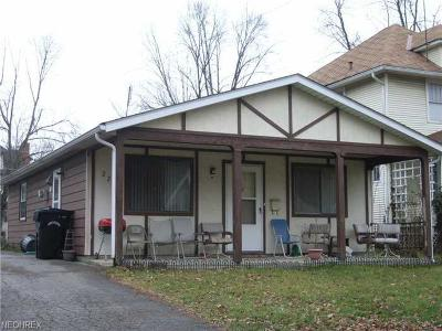Elyria Single Family Home For Sale: 221 15th St