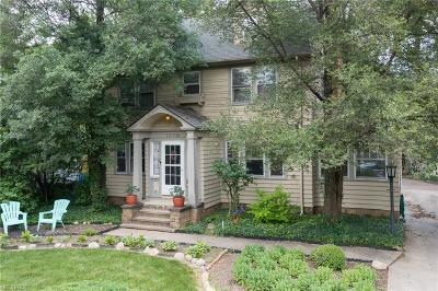 Shaker Heights Single Family Home For Sale: 13709 Cormere Rd