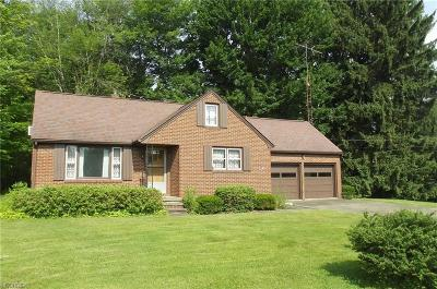 Alliance OH Single Family Home Sold: $100,000