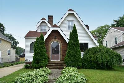 Cleveland Single Family Home For Sale: 1240 Spring Rd