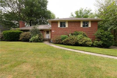 Shaker Heights Single Family Home For Sale: 20650 South Woodland Rd