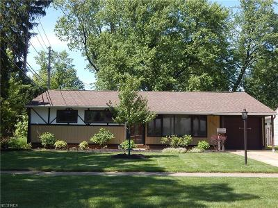 Parma Single Family Home For Sale: 11900 Appleton Dr