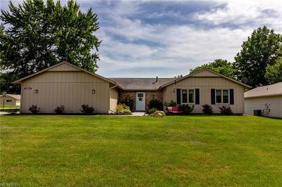 Strongsville OH Single Family Home For Sale: $198,000