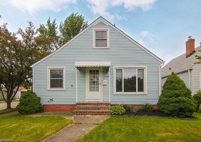 Parma Single Family Home For Sale: 6003 Wilber Ave