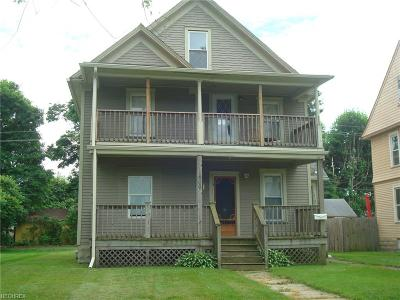 Ashtabula Multi Family Home For Sale: 1804 East 45th St